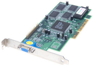 CARDEX Pert S3 Trio 3D AGP 4MB 9802-30 ICUVGA-GW802C Carte Graphique