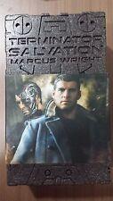 Hot Toys MMS 100 Terminator Salvation Marcus Wright Sam Worthington Figure NEW