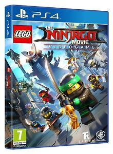 Lego Ninjago Movie Game Ps4 Kids Game For Sony Playstation 4 New
