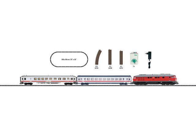 """Trix 21524 H0 Startpackung /"""" Interregio /"""" mit Dieselok BR 234 DB// AG NEU /& OvP"""