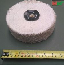 SISAL Buffing Wheel 150mm x 3 Section - fast cut polishing mop for metal  S150/3