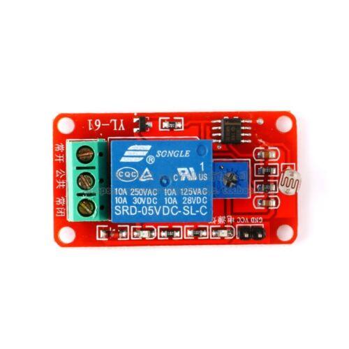 Nouveau LSR Photosensible Capteur Relais Photosensible Optique Relais Module 5 V