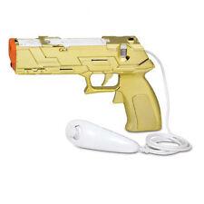 Quick Shot Plus Light Gun for All Shooting Games Nintendo Wii / Wii U - Gold