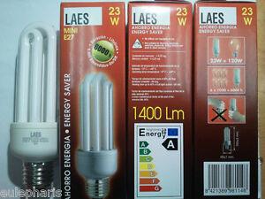 10-x-Bombilla-Bajo-Consumo-23W-120W-MINI-E27-827-Luz-Calida-2700K-Marca-LAES