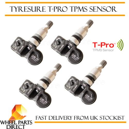 TPMS Sensores 4 Válvula de presión de neumáticos de reemplazo OE para Audi Q7 2005-2009