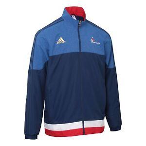new styles f2b6d 11613 ... Adidas-Federation-Francaise-Handball-Veste-AA3600-Homme-Taille-