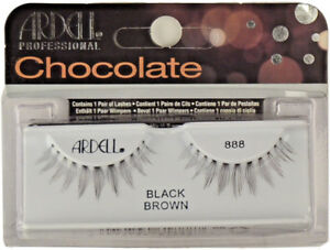 73338728b9d Image is loading Ardell-Chocolate-888-Black-Brown-Eyelashes