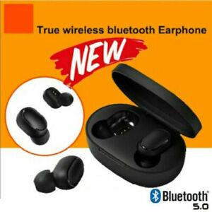 Dettagli su Per Xiaomi Redmi TWS Airdots Cuffie Bluetooth 5.0 Cuffie 5D auricolari stereo IN
