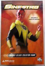 "DC Direct 13"" 1/6 Sinestro Deluxe Collector Figure"
