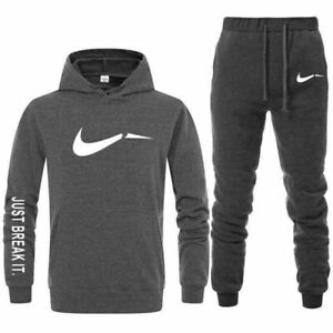 pantalons 2 Pcs ensemble sweats à capuche Sportswear Homme survêtement Hoodies