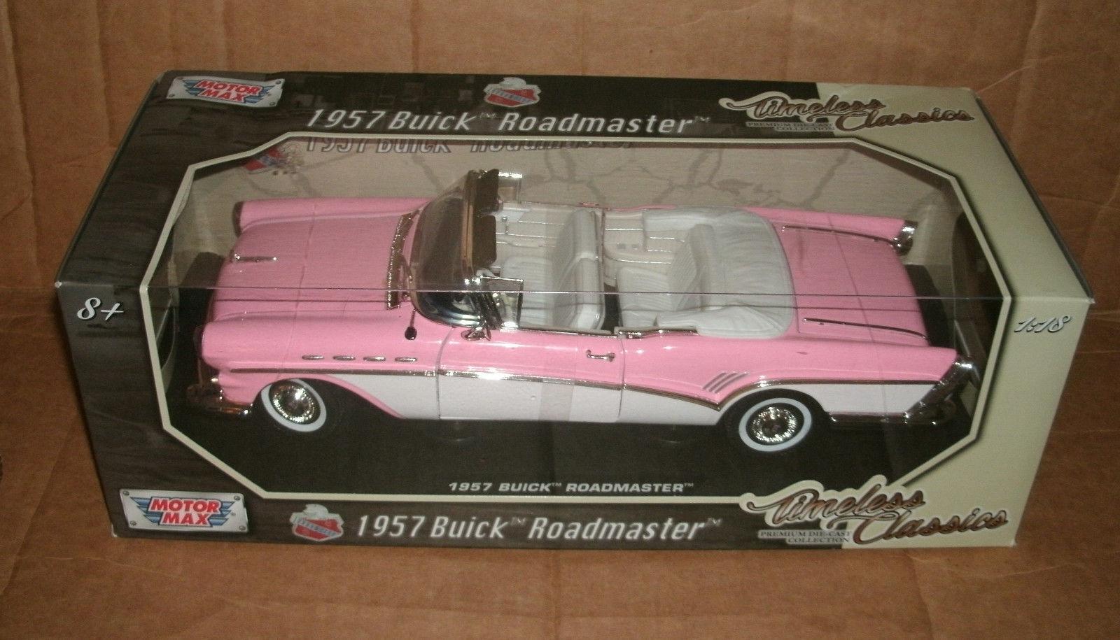 1957 ROADMASTER CONgreenBLE PINK&WHITE NIB