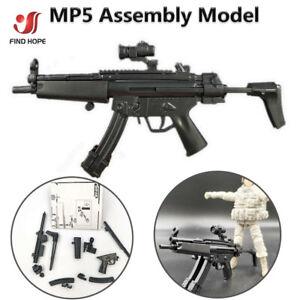 Details about 1/6 Scale HK MP5 Maschinenpistole Toy Gun Model Puzzles Brick  For Action Figure