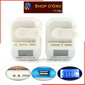 DOBO® Carica batteria caricatore lcd universale usb per