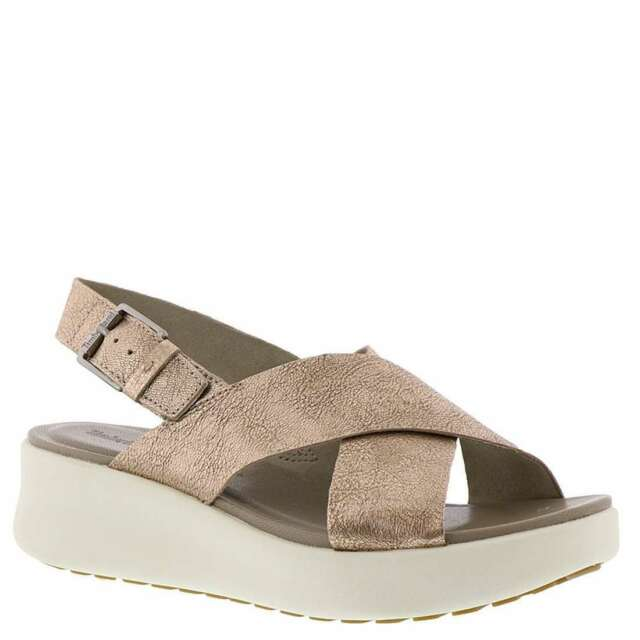 Timberland Women Los Angeles Wind Leather Slingback Buckle Sandals Summer Shoes