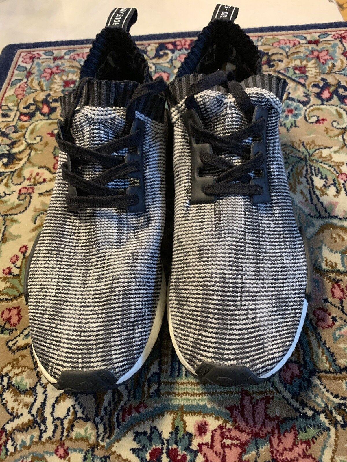 Adidas Nmd PK Grey Camo Glitch Size 12