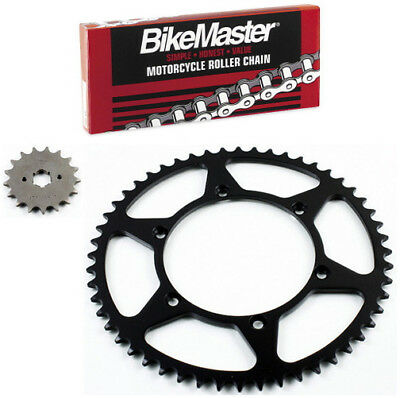 Red Drive Chain And Sprocket Kit for Kawasaki KDX200 1989-2006