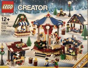 Retired-Lego-Creator-Christmas-Set-10235-Winter-Village-Market