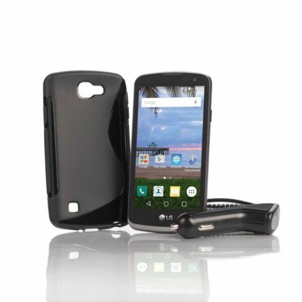 LG Rebel LTE, 8GB, Tracfone Smartphone - Black (L44VL) for sale online   eBay