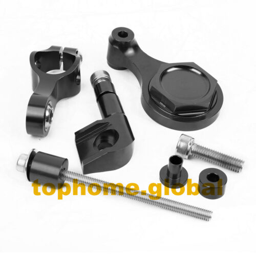 For Yamaha R6 2006-2014 Steering Damper Stabilizer Mounting Bracket Set US
