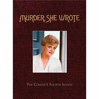 Brand Sealed Murder She Wrote The Complete Fourth Season Dvd Box Set 5 Discs