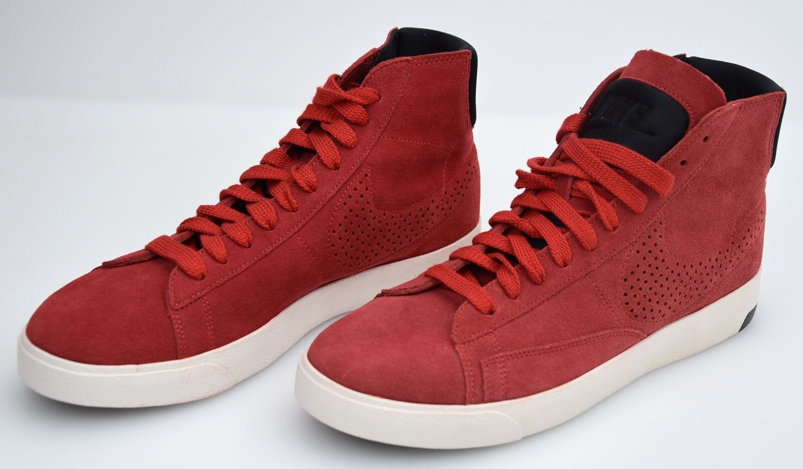 NIKE MAN SNEAKER SHOES CASUAL FREE TIME SUEDE CODE 599464 600 BLAZER LUX DEFECT