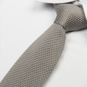 Color-Fashion-Knitted-Men-039-s-Knit-Necktie-Narrow-Tie-Woven