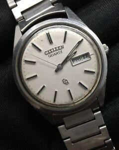 1be1d83a9ffb La imagen se está cargando Citizen-CQ-watch-reloj-quartz-cuarzo-vintage-no-