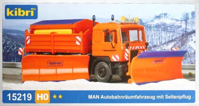 Kibri 15219 H0 - MAN Autobahnräumfahrzeug NEU & OvP