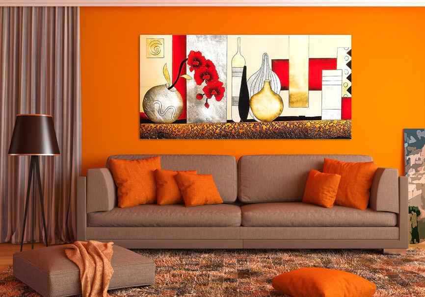 3D Mode Schöne Rot Blume Vase 8 Fototapeten Wandbild BildTapete AJSTORE DE Lemon