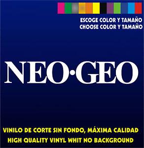 Sticker-Vinilo-NEO-GEO-Bartop-Arcade-Pegatina-Vinyl-Aufkleber-Autocollant