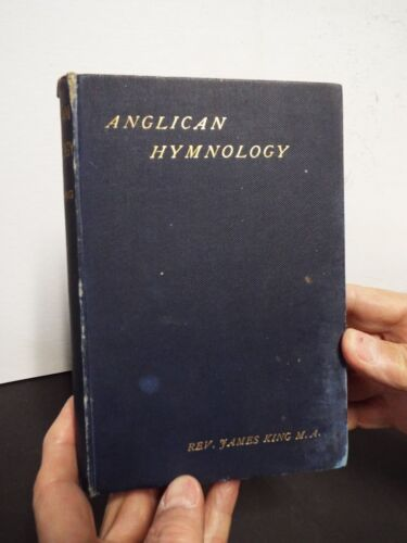 1885 Anglican Hymnology by James King Handwritten Letter from J.D. Bacon