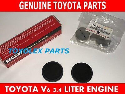 Set of 2 Genuine Rear Lexus Toyota  Engine Camshaft Seal 1118862010 11188-62010