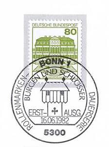 BRD-1982-Schloss-Wilhelmsthal-Nr-1140-A-Bonner-Ersttags-Sonderstempel-1A