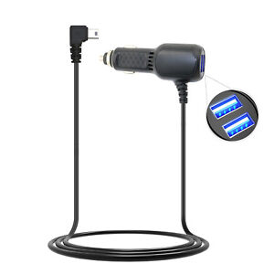 Mini USB Car Charger  USB Ports for Dash Cam GPS Camera Recorder Black Box
