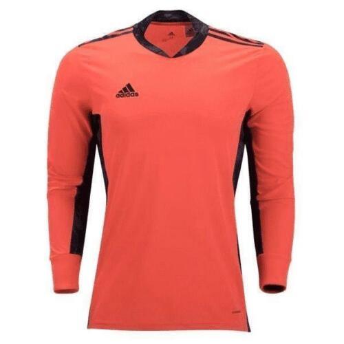 adidas Adipro 20 Mens Bright Orange Black Long Sleeve Jersey ...