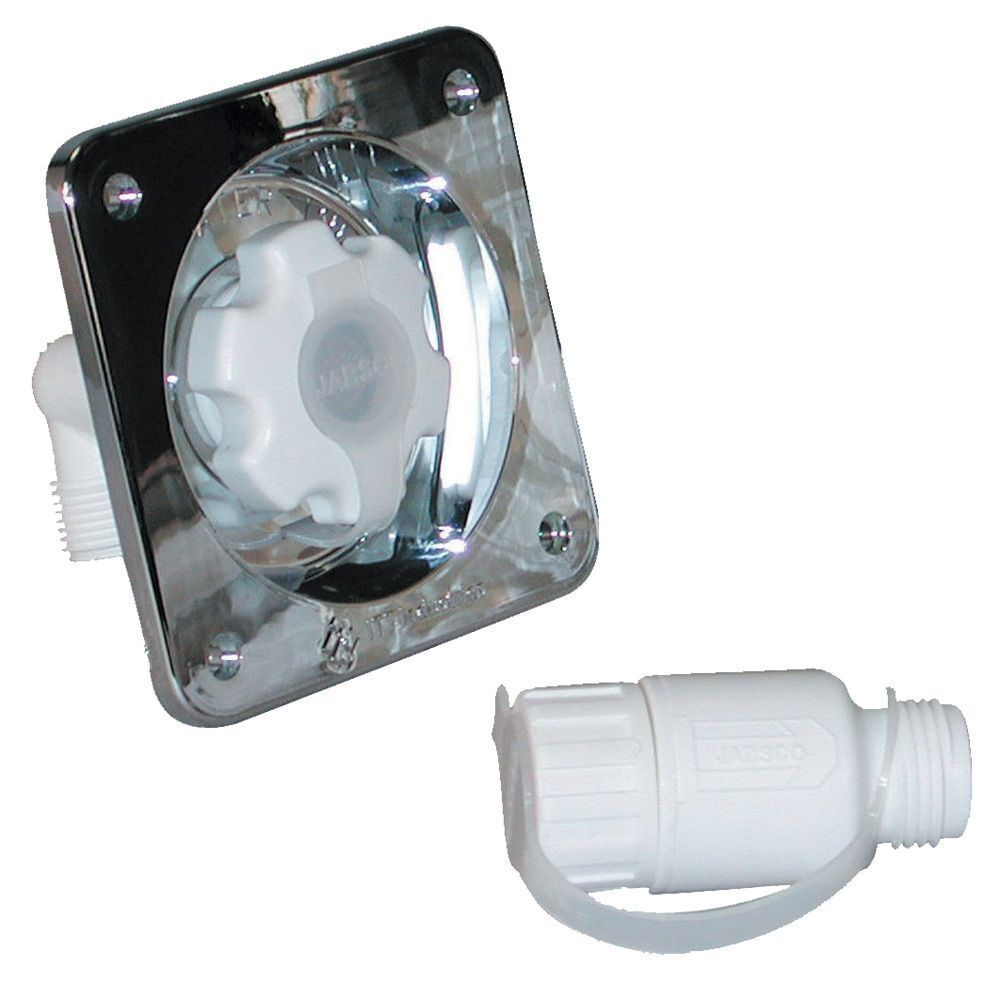 Jabsco Water Pressure Regulator - Flush Mount - Chrome - 45 psi