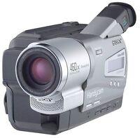 Sony Hi8 8mm CCD-TR818 Handycam Video Camcorder Player *WARRANTY*