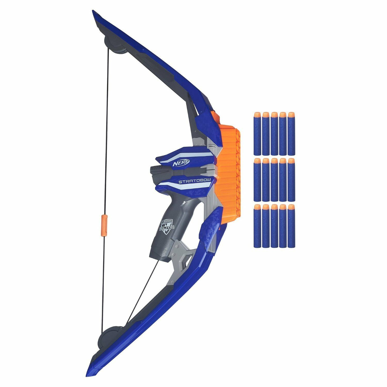 Brand New NERF N-Strike STRATOBOW Dart BLASTER Bow