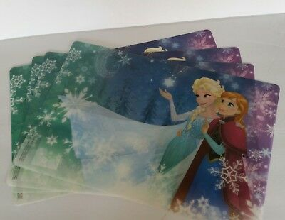 Zak Design Frozen Inspired Kids Mealtime Plastic Placemats