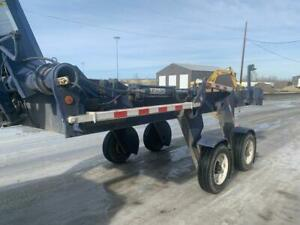 2013 LIFT-A-LOAD Equiptment Trailer - Ground to Dock height British Columbia Preview