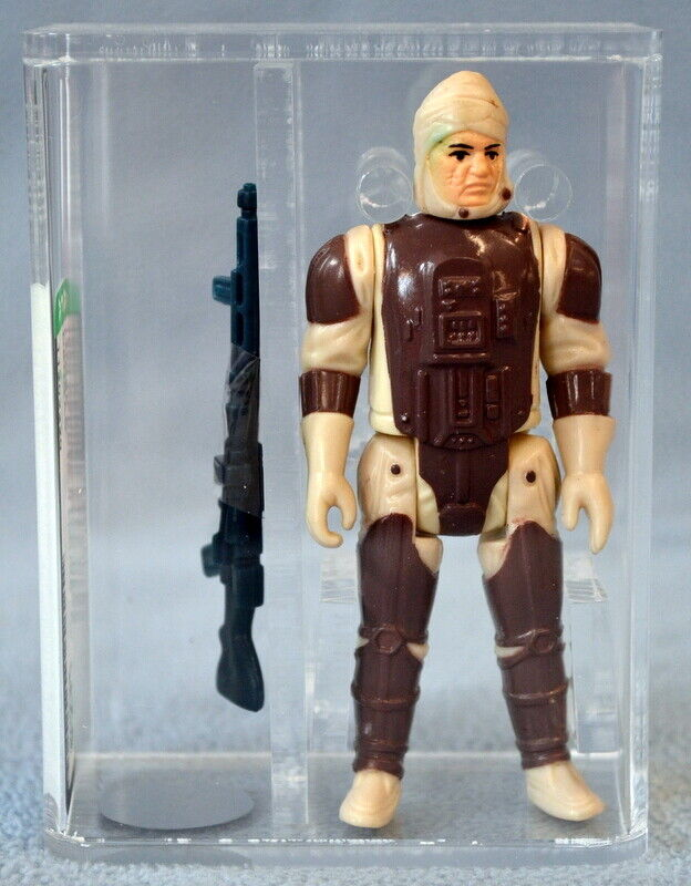 1980 U75 EX+ NM AFA Star Wars Loose DENGAR Kenner Figure HK COO