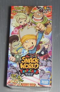 Snack World TRE JARA BOX 2nd DP-BOX with Tracking# New from Japan