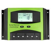 Lcd Solar Panel Charge Controller Battery Regulator 12v/24v 60a Pwm Mode Us