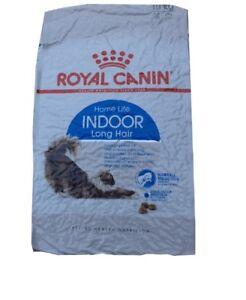 10 kg de nourriture pour chat Royal Canin Indoor pour cheveux longs ***