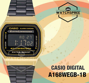 Casio-Standard-Digital-Vintage-Series-Watch-A168WEGB-1B