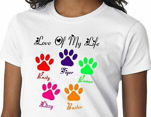 3a857e0f3 Personalized DOG CAT PET Pet Names Paws Mommy Mom Mother Grandma ...