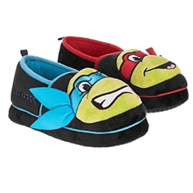 92901a4649e TMNT Toddler Boys Black Teenage Mutant Ninja Turtles Slippers House Shoes