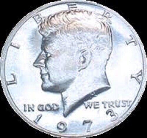 P  Kennedy Half Dollar ~ BU Condition 1973