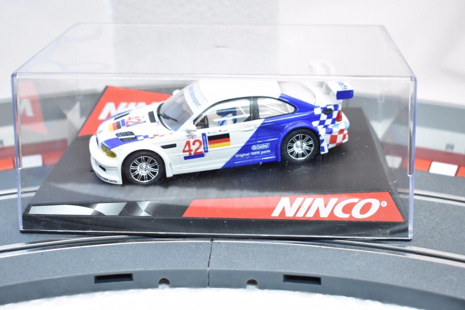 NINCO 1 32 SLOT CARS BMV M3 GTR  MOTORSPORT