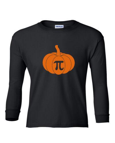 Youth Toddler Pumpkin Pi Shirt Math Geeks Funny Halloween Tee Thanksgiving Pie